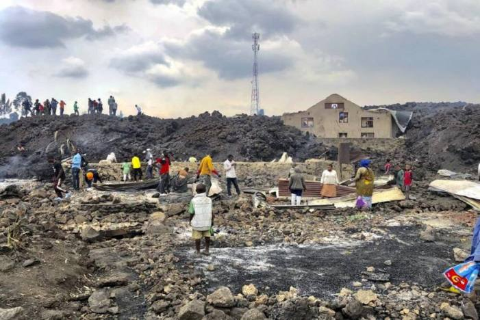 Volcanic Eruption In Congo Leaves 15 Dead, Thousands Homeless