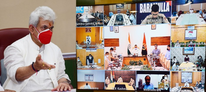 Lt Governor reviews District-level Covid control measures