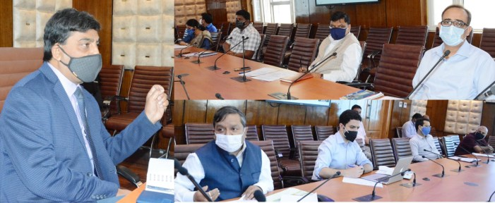 PMDP Projects in J&K to be completed during 2021-22: CS