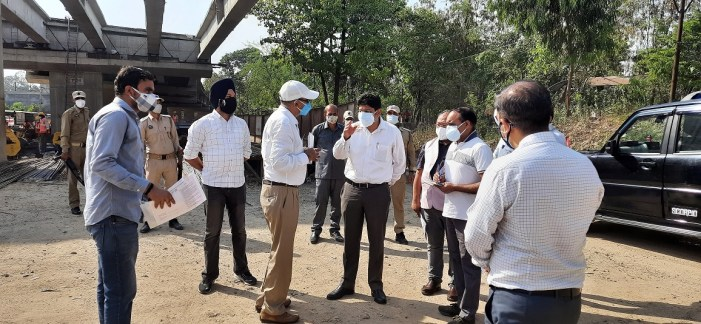 Div Com directs progress of Jammu-Akhnoor Road widening Project to be expedited