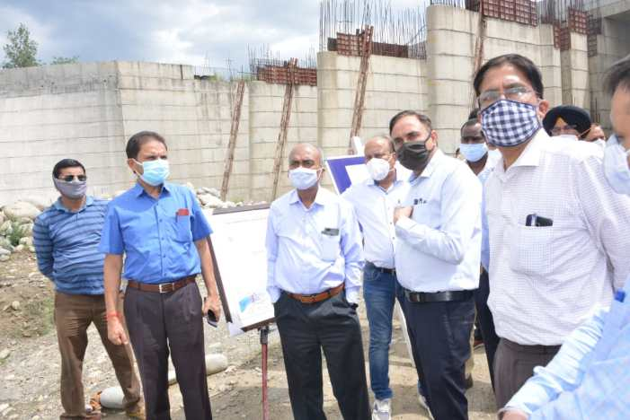 J&K, Punjab team inspects Shahpur Kandi Dam Project; Emphasizes expeditious execution for timely completion