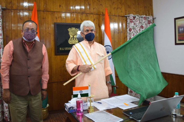 Lt Governor flags off IFFCO's Liquid Nano Urea consignment for J&K