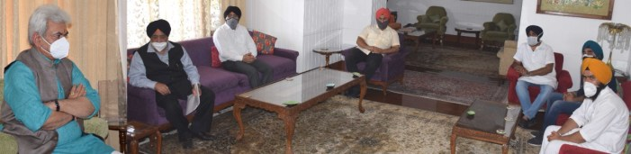 Delegation of Shiromani Akali Dal Delhi calls on Lt Governor