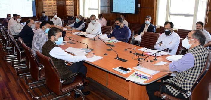 Kansal reviews progress on ongoing CSS projects of PDD
