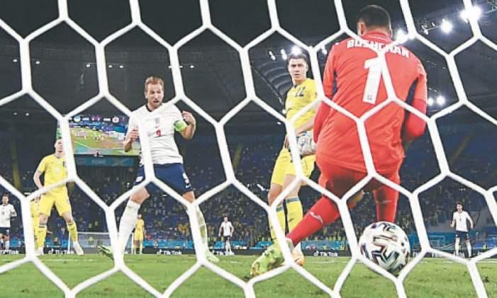 England, Denmark set up semi-final clash at Euro 2020