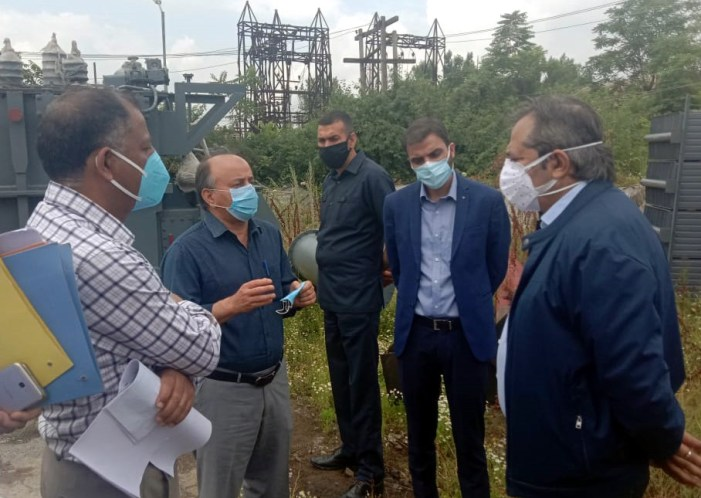 Advisor Baseer Khan inspects Central workshop, Electric Central Store, various other electric installations, workshops