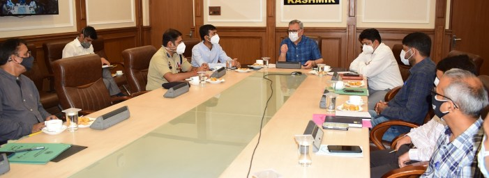 Advisor Farooq Khan reviews arrangements for Eid-ul-Azha in Jammu division