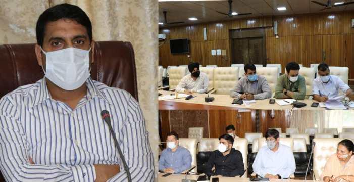 DDC Srinagar chairs DLSC meeting
