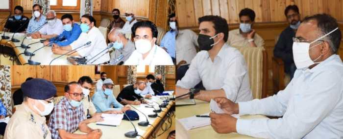 Div Com emphasizes on fool-proof arrangements for ensuing Muharram-ul- Haram