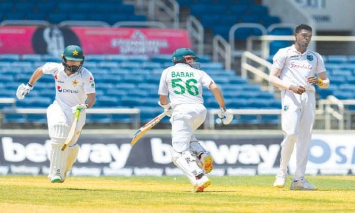 Babar, Fawad lift Pakistan after horrendous start