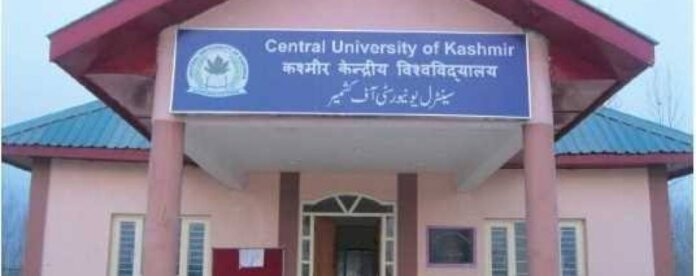 Central university students protest for implementation of UGC guidelines