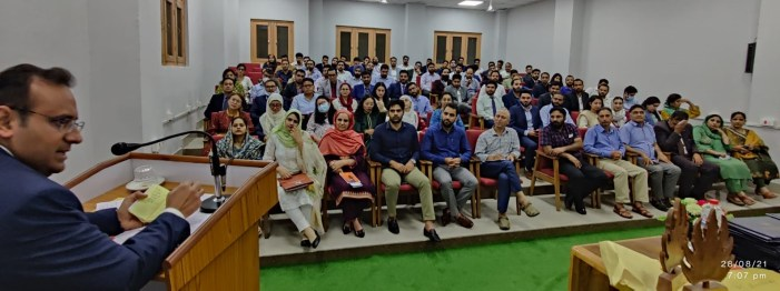 Week long Residential Evaluatory Training Course for JKAS Probationary Officers of Batch 2019 concludes