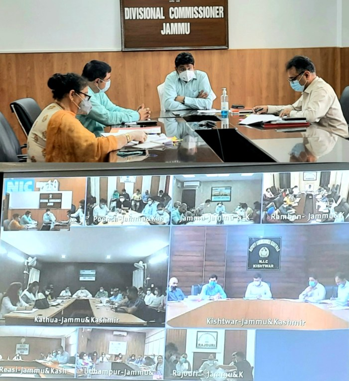 Detailed performance review of RDD schemes in various districts taken by Div Com