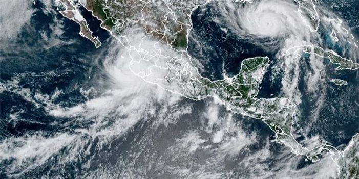Tropical Storm Nora hugs Mexico's coast; 1 dead, 7 missing
