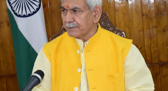 Congratulation to officers for achieving 100% vaccination of first doze: Manoj Sinha