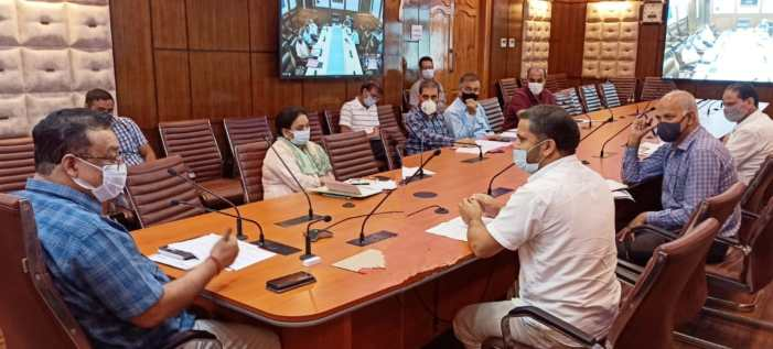 Navin reviews release, re-validation of funds during 2021-22 under CSS Agri and allied departments