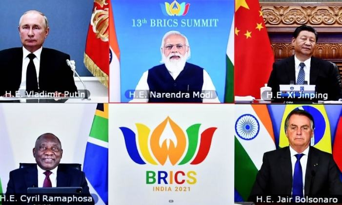 BRICS leaders call for peaceful settlement in Afghanistan