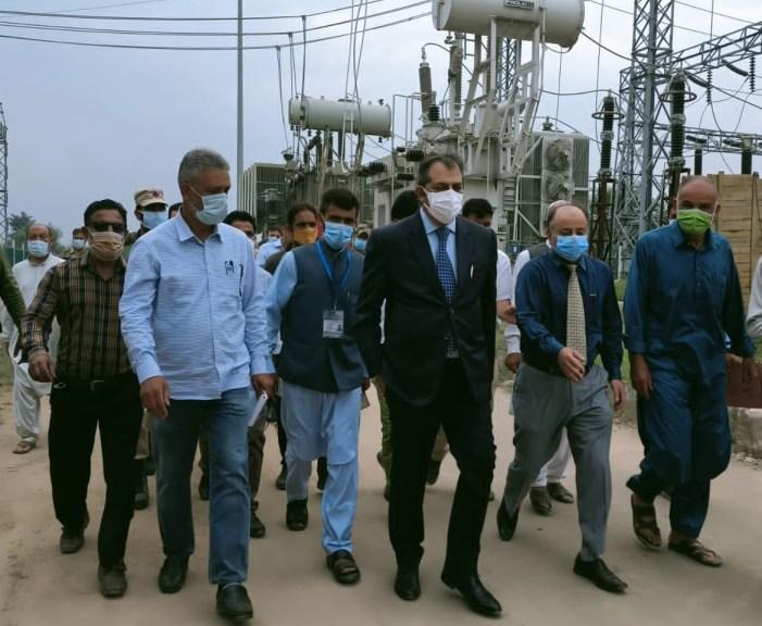 Advisor Baseer Khan Tours Pattan, Hygam, Palhalan and adjoining areas; Inaugurates 6.3 MVA 33/11KV Receiving Station at Goom Ahmedpora