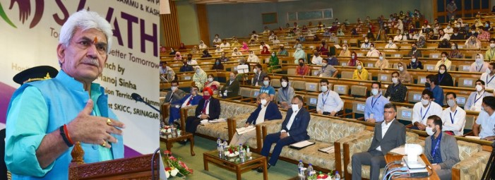 Lt Governor launches 'SAATH' – a rural enterprise acceleration program for SHG women in J&K