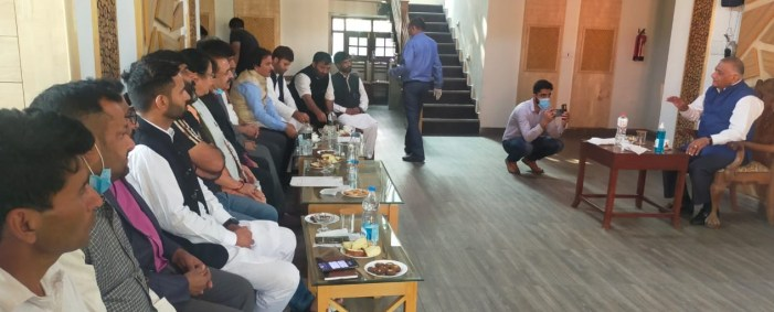 Three-Day Anantnag visit of Union MoS MoRTH concludes