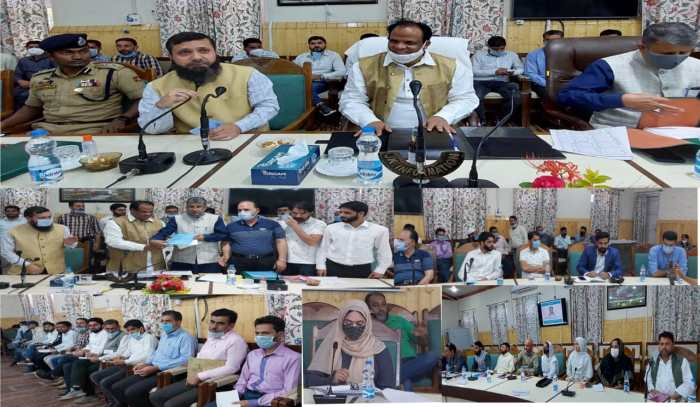 Union Minister of State for Minority Affairs reaches Kupwara for 2 day visit; Holds interactions with DDCs, BDCs, PRIs, Public deputations