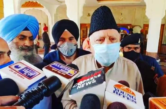 India won't exist if storm of division of communities doesn't stop forthwith: Dr Farooq Abdullah