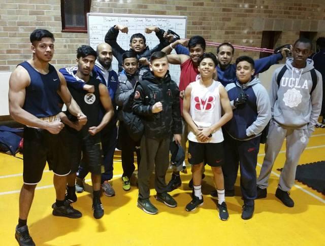 Brawlers Boxing Team Photo East London