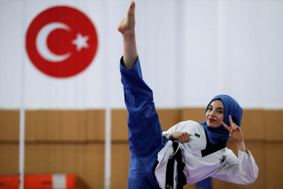 kubra dagli taekwondo hijab turkey