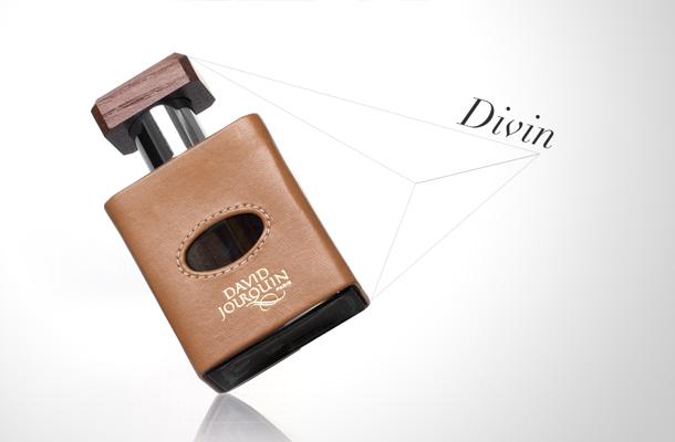 Parfum David Jourquin version soir cuir tabac