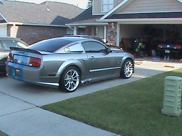 v6 side exhaust the mustang source