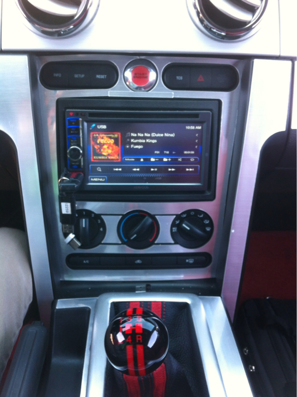 Pictures Of Your Head Unit The Mustang Source Ford