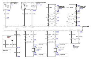 Wiring schematics  06 gt with shaker 500  The Mustang