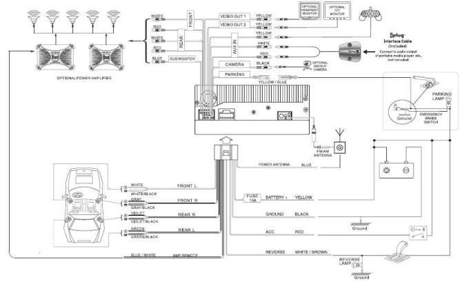 dual radio wiring diagram a horn relay wiring diagram