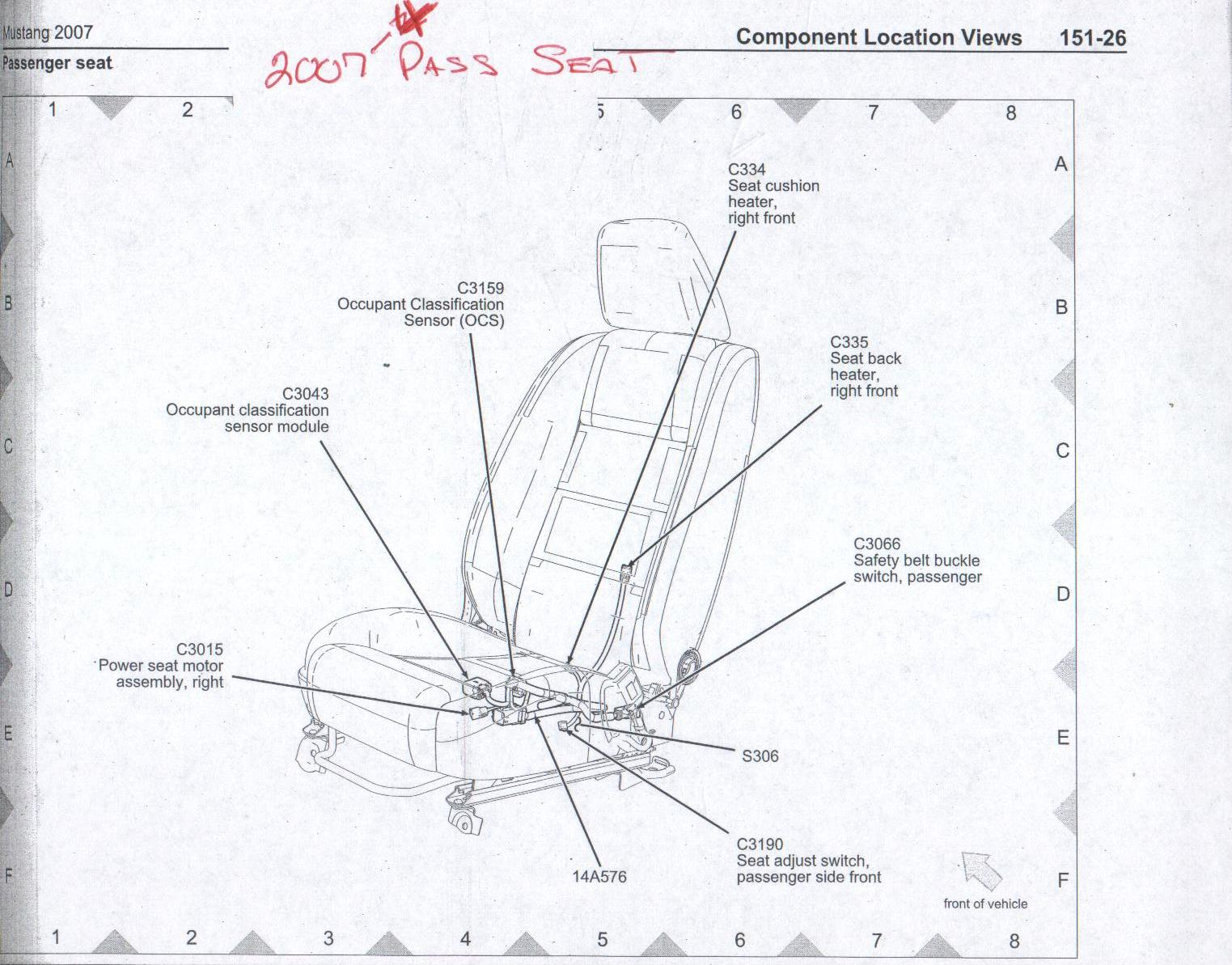 2007 impala seat wire harness   29 wiring diagram images