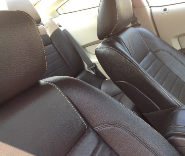 Replaced Cloth Seats With Oem Leather Seat Covers