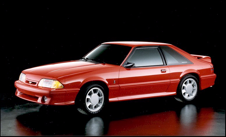 Timeline 1993 Mustang The Mustang Source