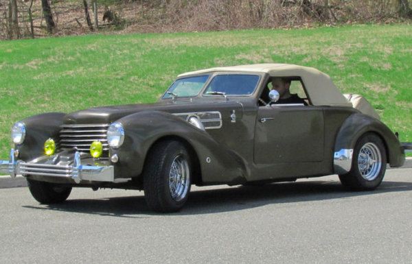 This Cord Kit Car Is Based On A 1969 Mustang The Mustang Source