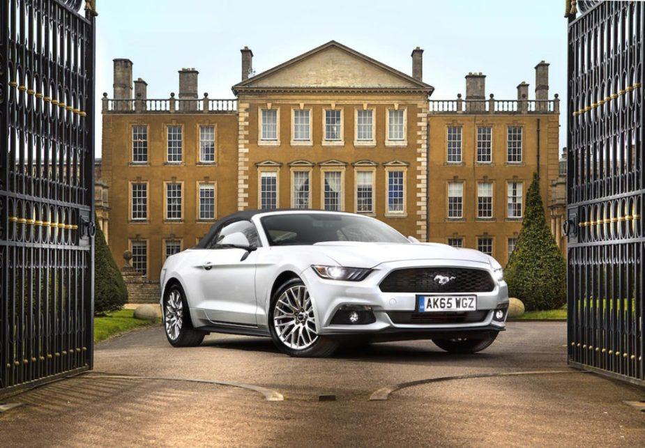 Mustang in England