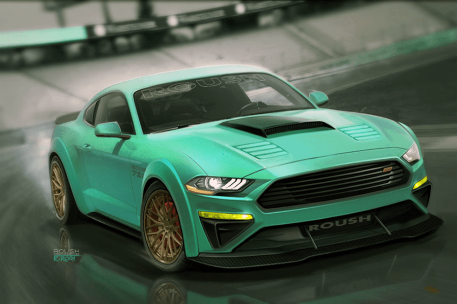 Sema The Magnificent Seven 2018 Ford Mustang Concepts The