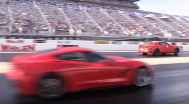 This EcoBoost Mustang is a ringer at the drag strip.