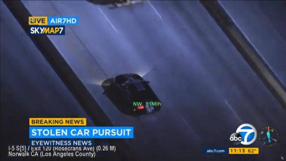 Mustang Car Chase