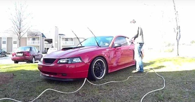 2003 Mustang GT Getting a Bath