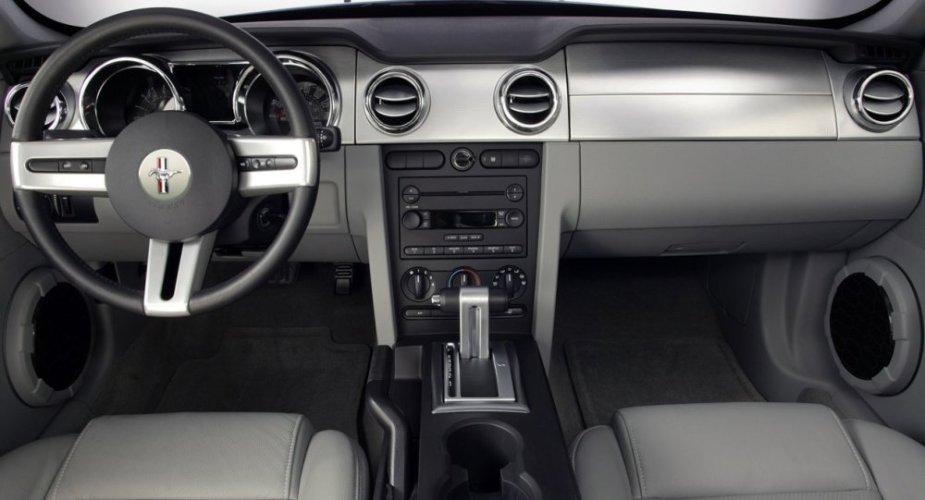 2005 Mustang Dash