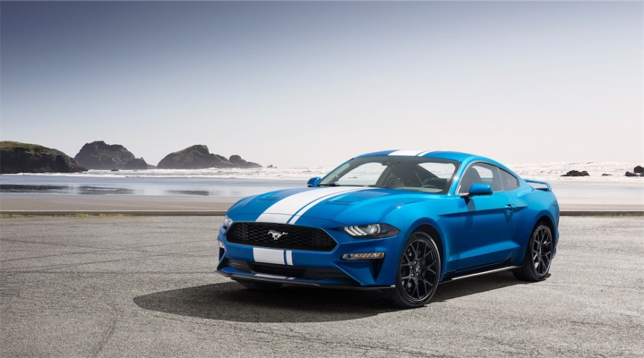 America's dream car is a Ford Mustang