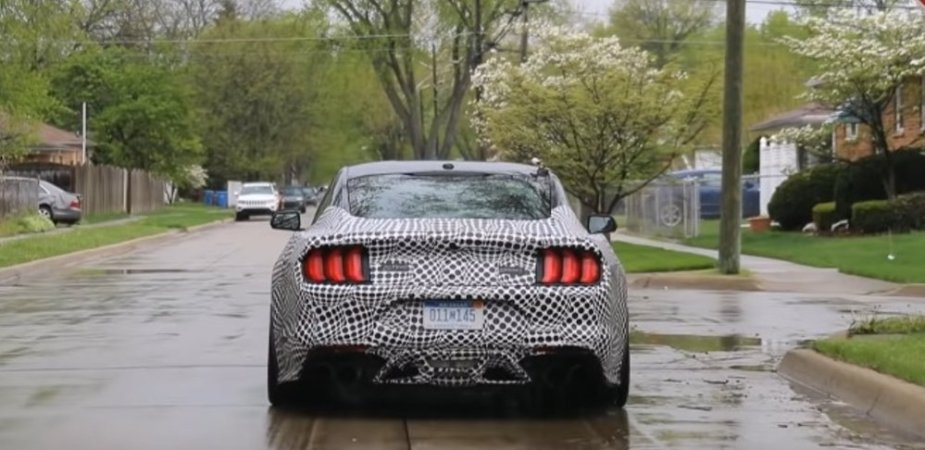 New Ford Mustang Shelby GT500 Rear End