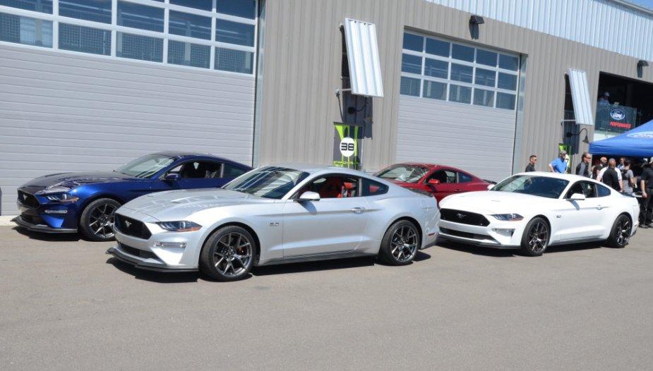2019 Mustang GT Performance Pack 2 fastbacks