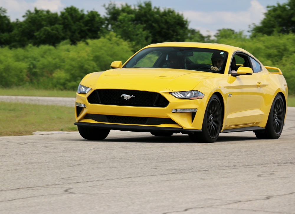 2018 Ford Mustang GT with GT Performance