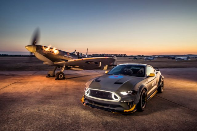 Ford, Vaughn Gittin Jr. Race to the Clouds at Goodwood with Eagl
