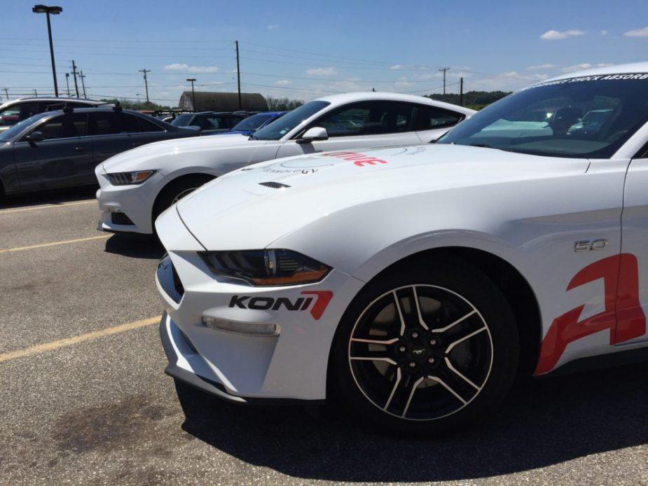 Mustang GT Koni Active Suspension: Perfectly-balanced