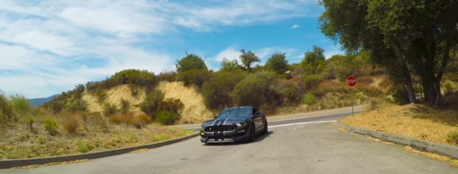 Shelby GT350 Mustang on the Road